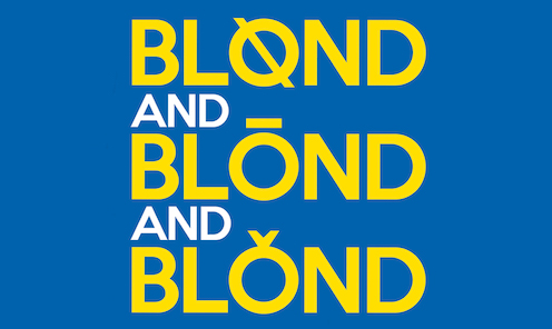 Blond and Blond and Blond