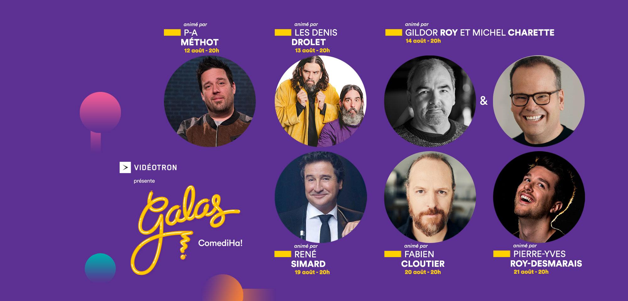 Galas ComediHa! 2021