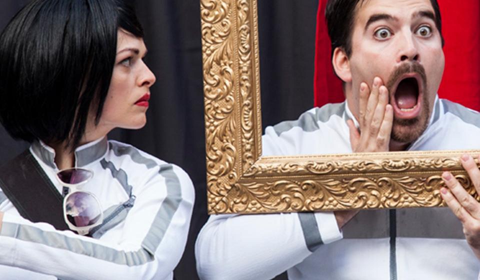 Action! Spectacle d'humour non-verbale et théâtrale Québec avec comédien - ComediHa!